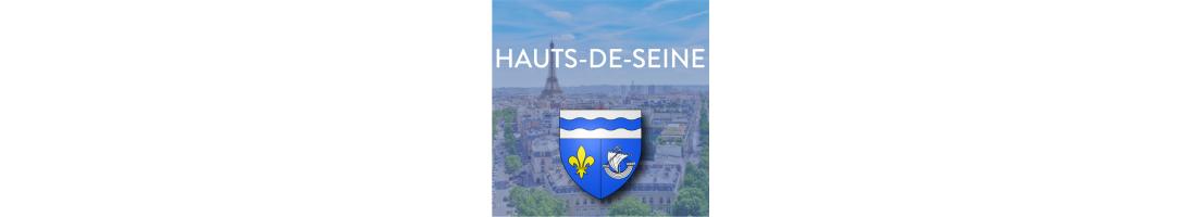 Autocollants du département des Hauts-de-Seine (92)