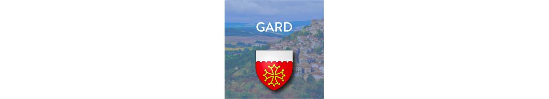 Autocollants du département du Gard (30)