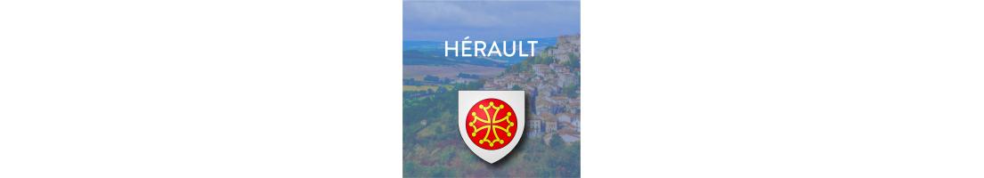 Autocollants du département de l'Hérault (34)