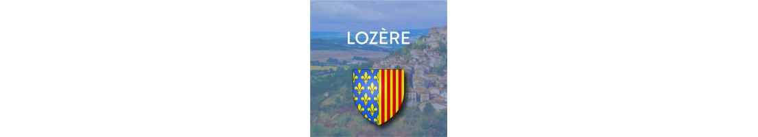 Autocollants du département de la Lozère (48)