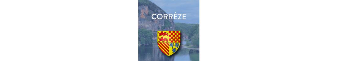 Autocollants du département de la Corrèze (19)